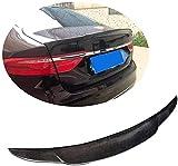 Fibra De Carbono Coche Tronco Alerón Trasero para Jaguar XF Berlina 2016-2019, Duradero Techo Spoiler Lip Wing Alerón De ala DecoracióN, Car Accesorios De Modificación