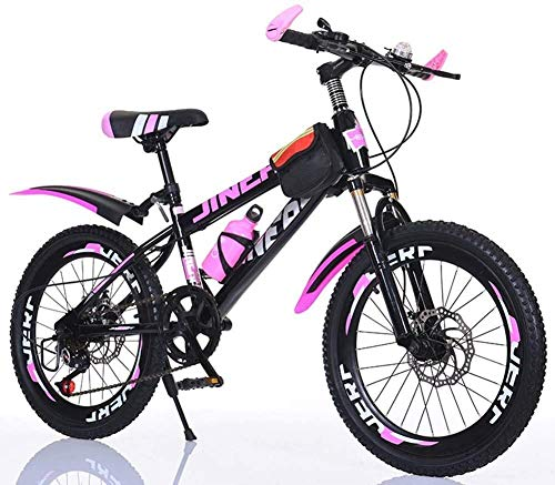 WZLJW Kinder Bicles 20 Zoll Mountainbikes Studenten Outdoor Sports Fahrrad Jungen Bicle Mädchen Bicles Kinder Bicles, Mountain Bikes, Jugend Bicles, Stoßdämpfung und Variable Speed ​​LIN ggsm
