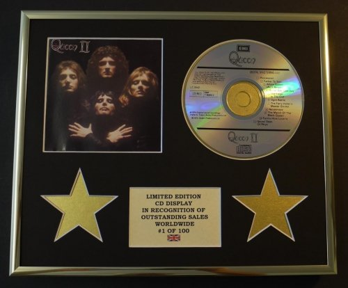 Queen / CD Display / Limited Edition / COA / Queen II