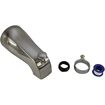 Satin Nickel 8888730.295 American Standard 8888.730.295 Portsmouth Slip-On Diverter Tub Spout