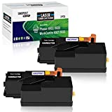 SINOPRINR Compatible Toner Cartridge Replacement for Xerox WorkCentre 6027 6025 Phaser 6022 6020 (106R02759 Black, 2-Pack)