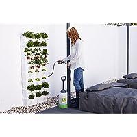 minigarden Vertical Kitchen Garden para 24 Plantas, Jardín Vertical Modular y Extensible, Incluye el Kit de Riego por Goteo, Colocar en el Suelo o Colgar en la Pared (Blanco)