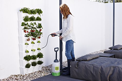 Minigarden Vertical Kitchen Garden pour 24 Plantes, Comprend Le kit darrosage Goutte--Goutte, Autoportant ou Fix au Mur, Long...