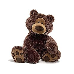 Image: GUND Philbin Teddy Bear Stuffed Animal Plush, Chocolate Brown