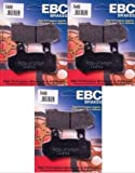 EBC Premium Front + Rear Brake Pads (3 Sets)...