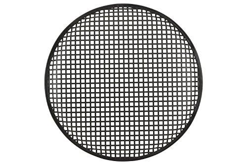 QTX 15Zoll Metall Lautsprecher Gitter mit robuster schwarzer Pulverbeschichtung