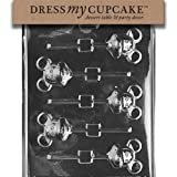Dress My Cupcake Chocolate Candy Mold, Mouse...