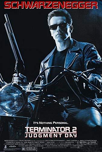 RPW Filmposter Terminator 2, Vintage, A4 / A3, 280 g/m², seidenglänzender Druck, A3