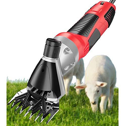 MMUY-1 Cortapelos eléctricos de ovejas, control de velocidad inteligente de 6 velocidades y una eficiente disipación del calor, funcionamiento silencioso para tijeras rápidas.