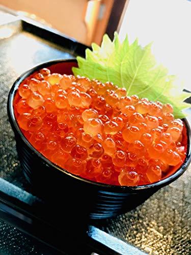 2020年新物!北海道産鮭卵使用【 塩いくら 1?g】化粧箱入 高級ブランド(ア)高品質な美味しさを!