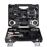 N / C Kit de reparación de Bicicletas, Kit de reparación de Bicicletas de montaña, Accesorios para Equipos de Bicicletas, Caja de Almacenamiento incorporada, Reutilizable