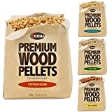 Kona Best Wood Smoking Pellets - Grilling Smoker Tube Pellets Variety Pack - 100% Hickory, Premium...