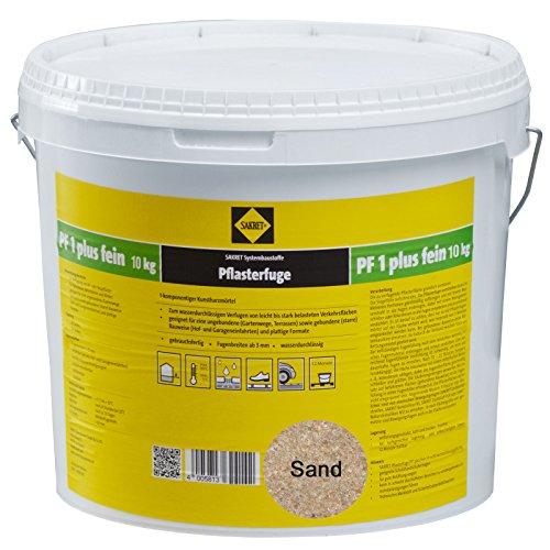 Sakret Pflasterfugenmörtel PF1 Plus FEIN 10kg Kunstharzmörtel 1K (Sand)
