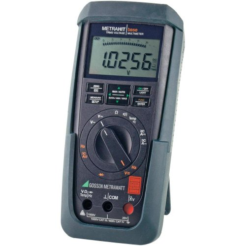 Gossen Metrawatt METRAHIT AM Base Hand-Multimeter kalibriert (DAkkS-akkreditiertes Labor) digital CA