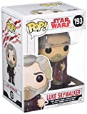 Star Wars - Figuara de Vinilo: Pop! Bobble E8 TLJ: Luke Skywalker