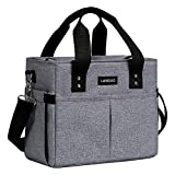 Landuo Large Lunch Bag for Adult Men Women Insulated Lunch Box Soft Cooler Cooling Tote