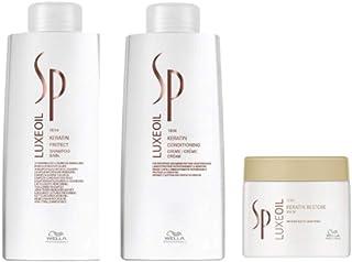 Kit Shampoo Condicionador e Máscara Wella SP Luxe Oil
