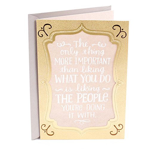 Hallmark Boss's Day Card from All (So Glad to Work for You)