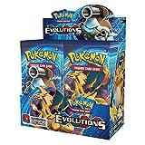 Pokemon TCG: XY Evolutions Sealed Booster Box (36 paquetes)(Tarjeta de copia en inglés)_