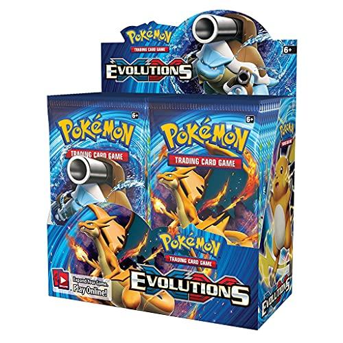 Pokemon TCG : Boite de Booster Scellée XY Evolutions(36 packs)Pokemon Card Game(copie anglaise)
