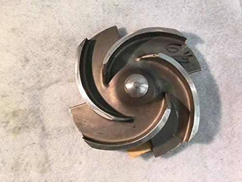 Flowserve Flügelrad, 16,5 cm Durchmesser MY50657A82062 3x1 1/2-82 Cut D 6-1/4 MRK3