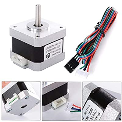 Nema 17 Stepper Motor 2 Phase 4-Wire 1.8 degree Stepper motor For 3D Printer (42 x 42 x 34mm)