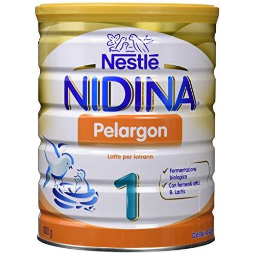 NESTLÉ NIDINA 1 Pelargon dalla nascita Latte per lattanti in Polvere latta 800g