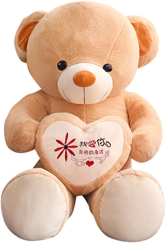 LAIBAERDAN Puppe Gestndnis Br Panda Puppe Mdchen Geburtstag Geschenk Niedlichen Schlafen Halten Big Bear Plüschtier, Um Freundin Zu Senden