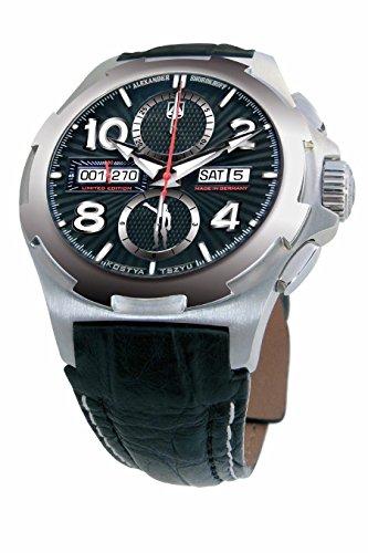Alexander Shorokhoff Uhr ETA 7750 Automatik Chronograph Valjoux Herrenuhr Mechanisch