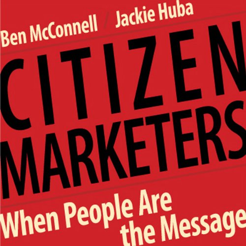 Citizen Marketers audiobook cover art