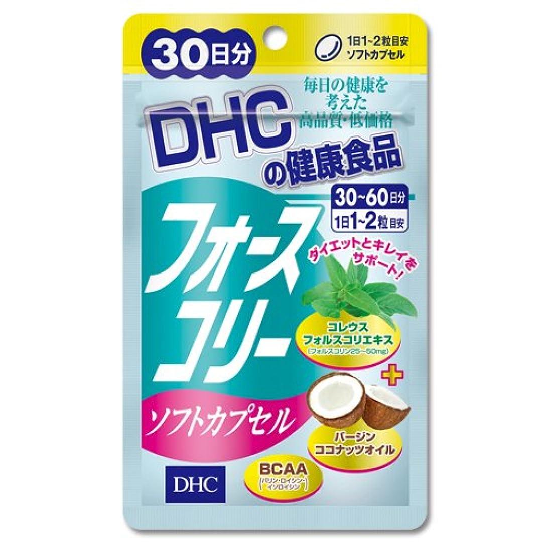絶望葉巻版DHC フォースコリー ソフトカプセル 30日分