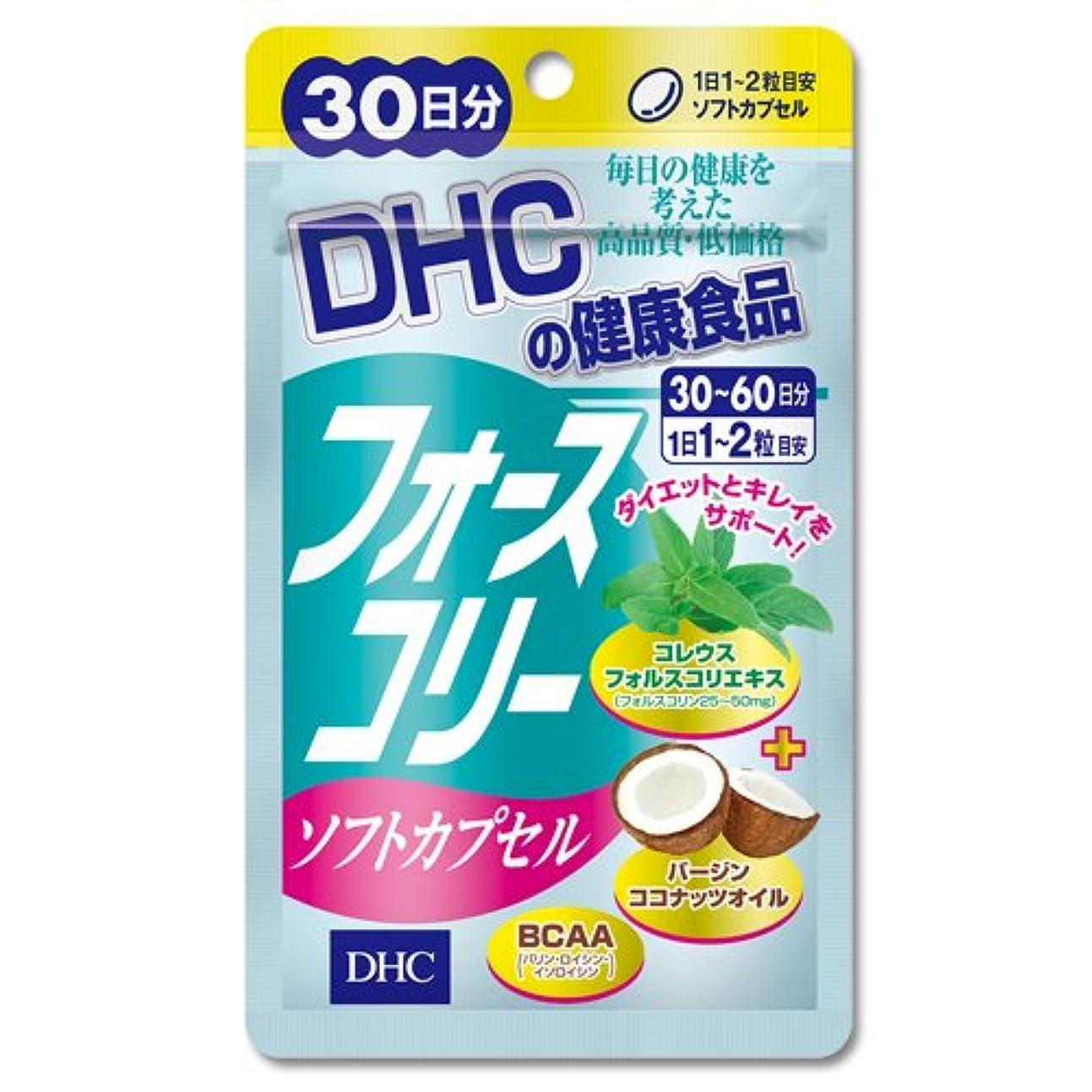 スクレーパーゆるく挑むDHC フォースコリー ソフトカプセル 30日分