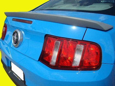 Accent Spoilers - Spoiler for a Ford Mustang GT500 Factory Style Spoiler-Sterling Gray Metallic Paint Code: UJ