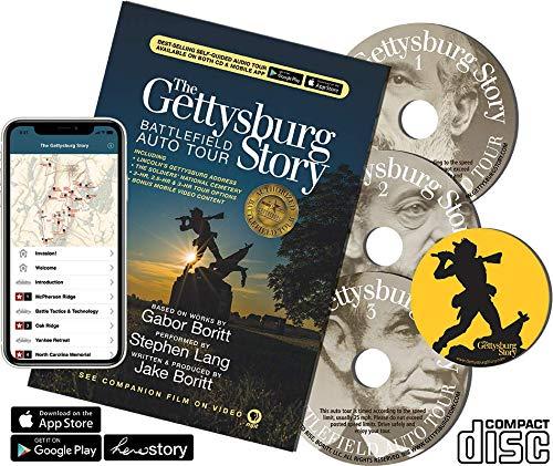 The Gettysburg Story: Battlefield Auto Tour (Guidebook+CD+App)