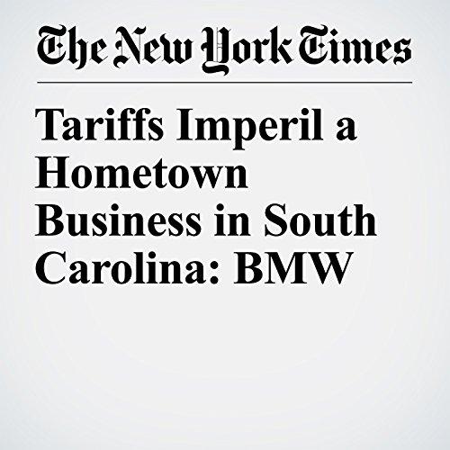 Tariffs Imperil a Hometown Business in South Carolina: BMW copertina