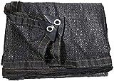 Markisen LQ Sunblock SonnenschutznetzATRE Sommersonnenschutz 95% schwarz Schatten Tuch,...