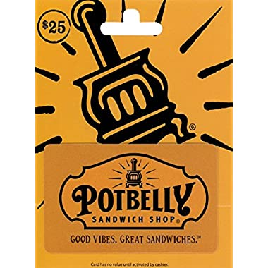 Potbelly Sandwich Shops Gift Card $25