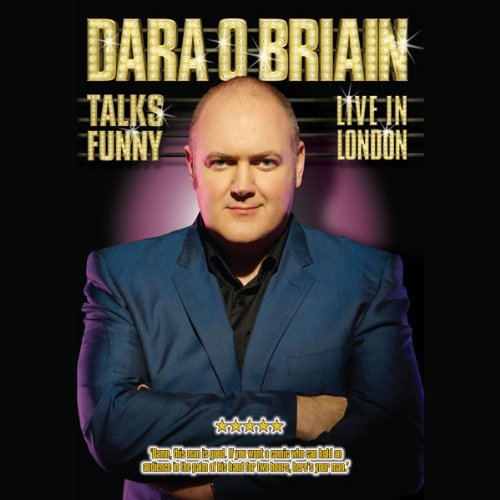 Dara O'Briain audiobook cover art