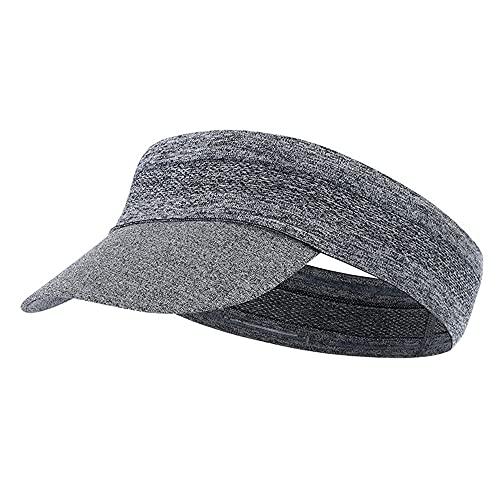 Gorra de verano elástica transpirable con protección solar para acampar al aire libre, ciclismo, correr, gimnasio, fitness, diadema, para hombres y mujeres