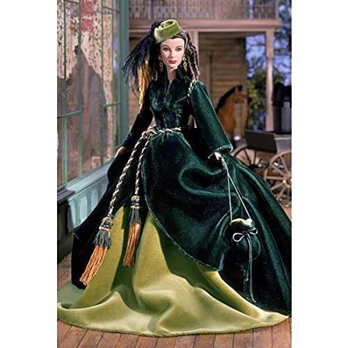 Mattel 2001 Timeless Treasures Collectible Doll - Scarlett Ohara - On Peachtree Street, The Drapery Dress