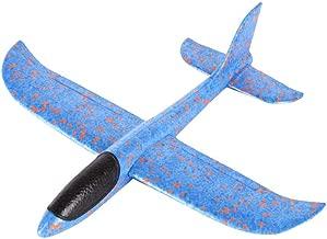 Rojo Knowooh Planeador Ni/ños Avi/ón de Espuma de poliestireno LED Avi/ón de Juguete Lanzamiento Manual Planeador para ni/ños Regalo de cumplea/ños Flying Gliders Modelo