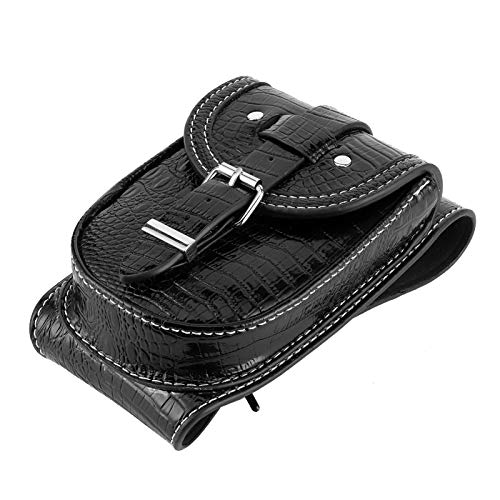 Da Dini PU Bolsa De Tanque De Aceite Black Bolsa Multifuncional Motocicleta Titular De Teléfono Ajuste para Xl883 1200 X48 Accesorio Motobike
