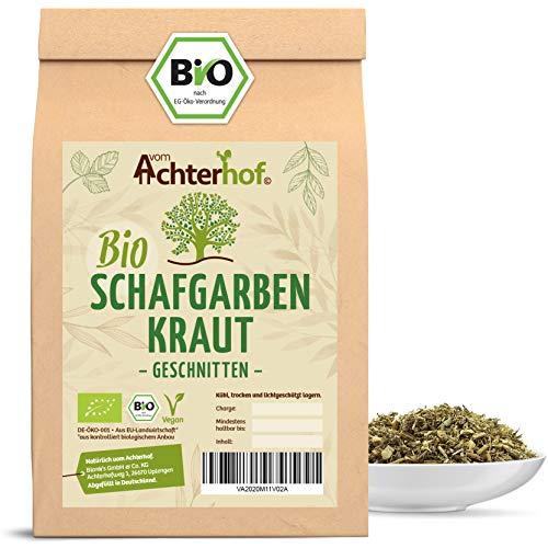 Schafgarbenkraut BIO (100g) | Schafgarbentee | Schafgarbe Tee | organic yarrow herb vom Achterhof