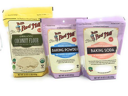 Coconut Flour Baking Bundle Bob's Red Mill w/ Baking Soda & Baking Powder
