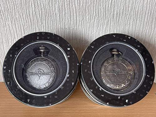 キングダム ハーツ プレミアム懐中時計 シルバー ゴールド 2個セット