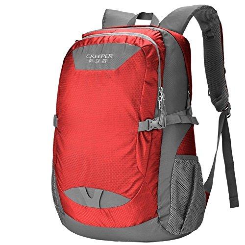 éclairage d'alpinisme Sac/Sac à bandoulière/Sports Rouge 40L