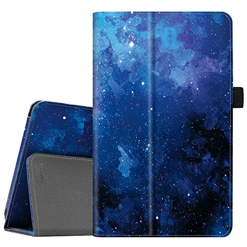 Famavala Folio Case Cover Compatible with 7' Amazon Kindle Fire 7 Tablet (9th Generation, 2019 Release) (Blugaxy)