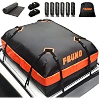Fruno 15 Cubic Feet Carrier Waterproof Vehicle Cargo Carrier Roof Bag