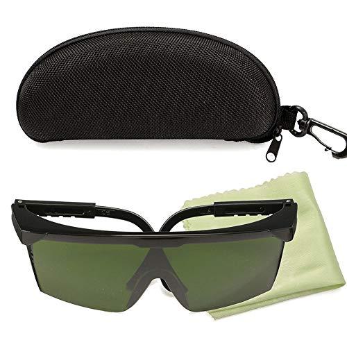 KKmoon Laserschutzbrille 200nm-2000nm Laserschutzbrille OD4 Stylische Schutzbrille für den industriellen Einsatz