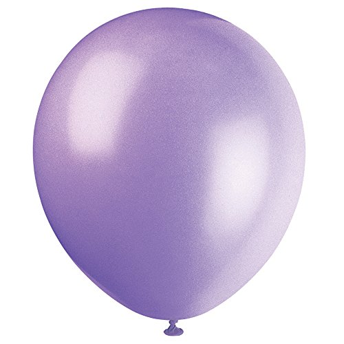 9' Latex Spring Lavender Balloons, 20ct